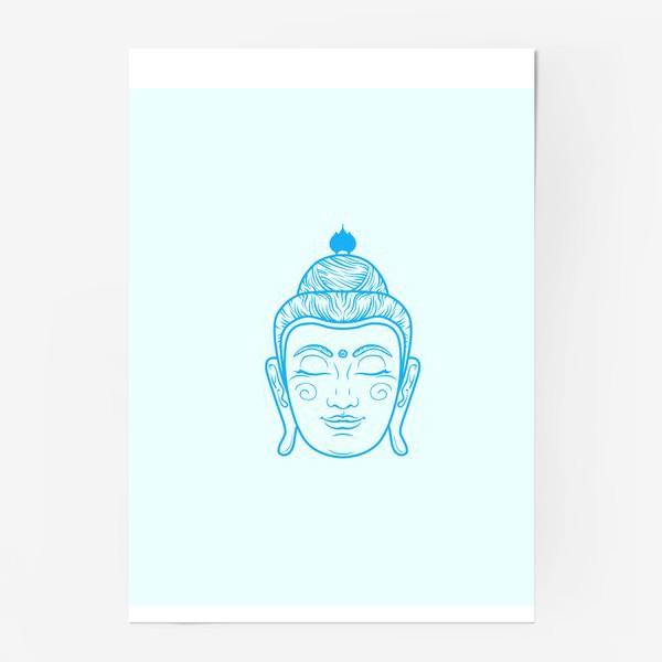 Постер «голова Будды»