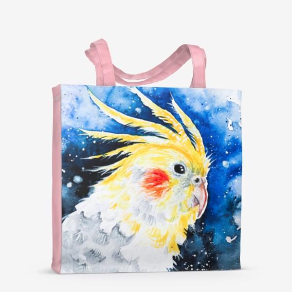 Сумка-шоппер «Попугай Корелла-нимфа»