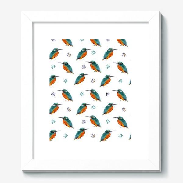 Картина «Зимородки »