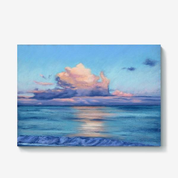 Холст «море и облака»