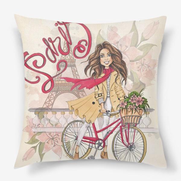 Подушка «Милый Париж»