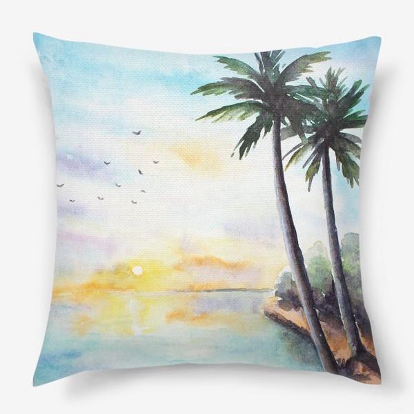 Подушка «Тропики»