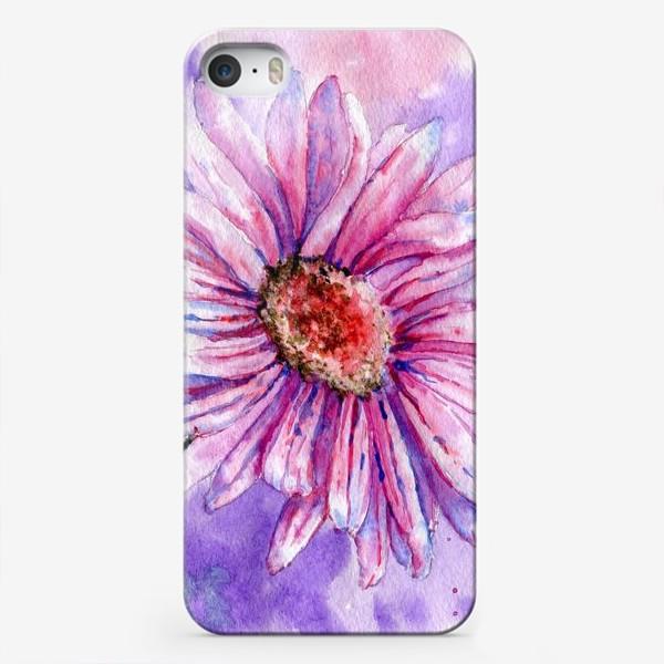 Чехол iPhone «Натюрморт с гербером»