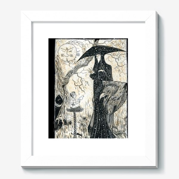 Картина «Темный лес. Фентези.»
