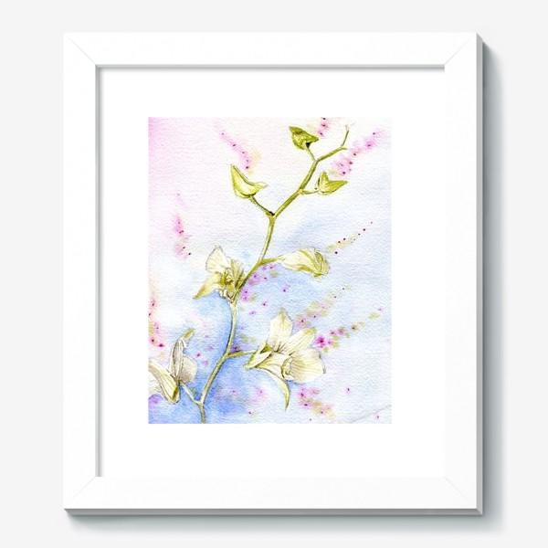 Картина «Акваерльная орхидея»