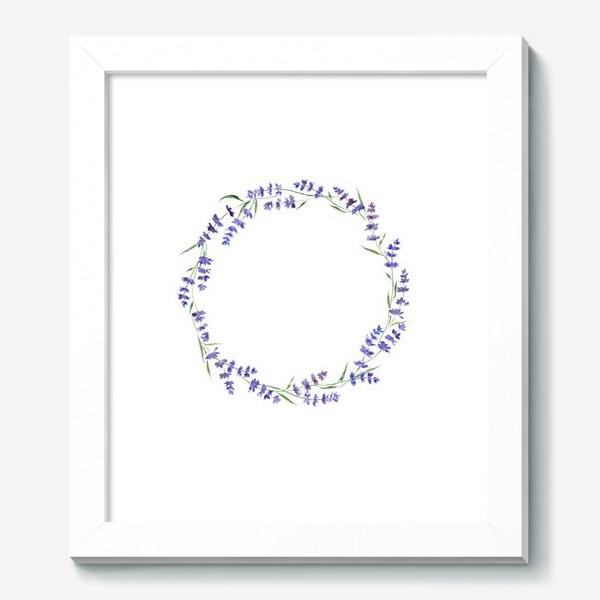 Картина «Лавандовый венок»