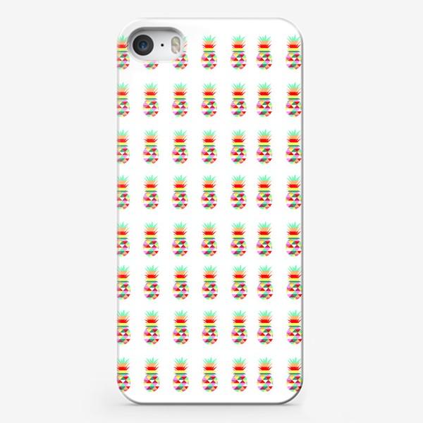 Чехол iPhone «ананасовый паттерн»