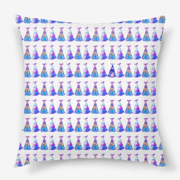 Подушка «Нежные типи»