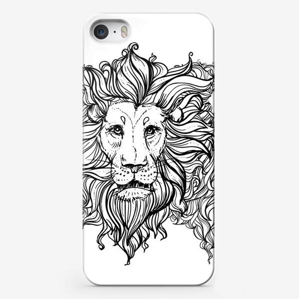 Чехол iPhone «Лев. Три льва»