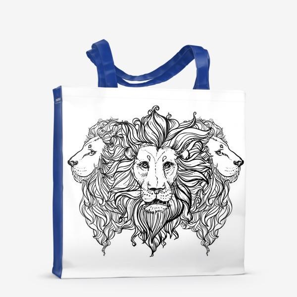 Сумка-шоппер «Лев. Три льва»