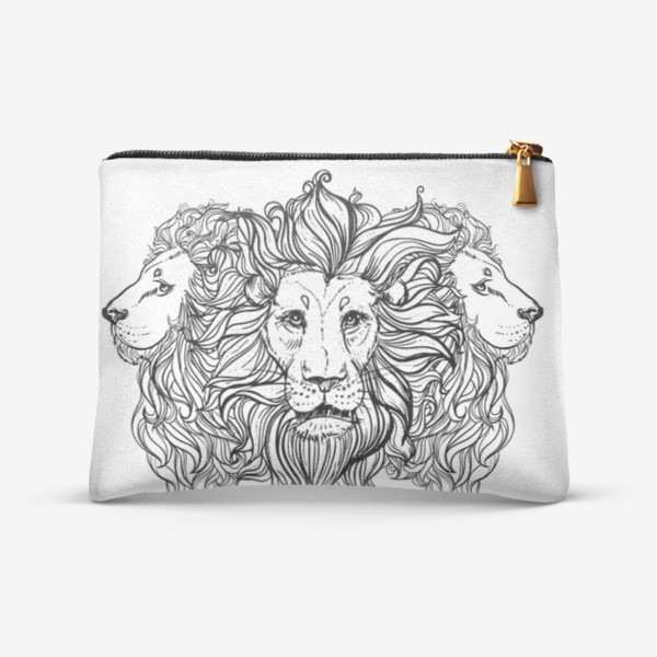 Косметичка «Лев. Три льва»