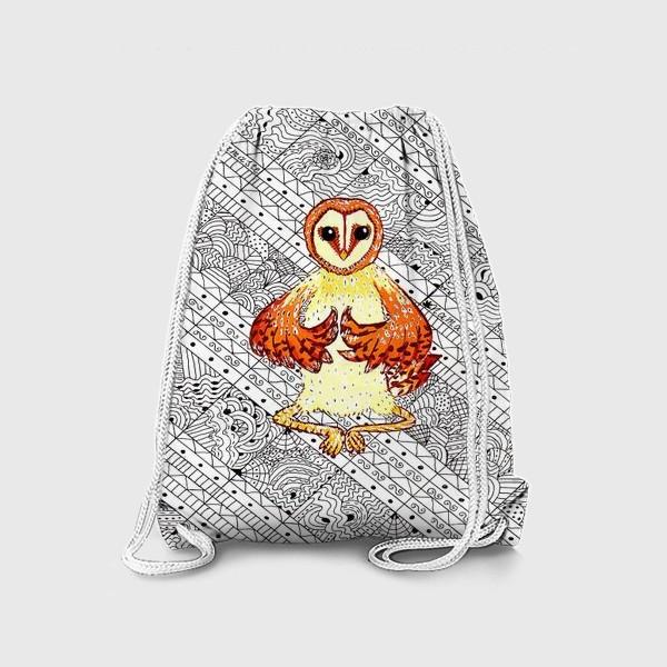 Рюкзак «Намасте сова»