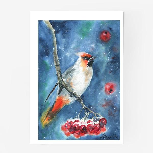 Постер «Птица и рябина»