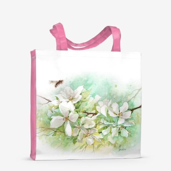 Сумка-шоппер «Цветущая ветка»