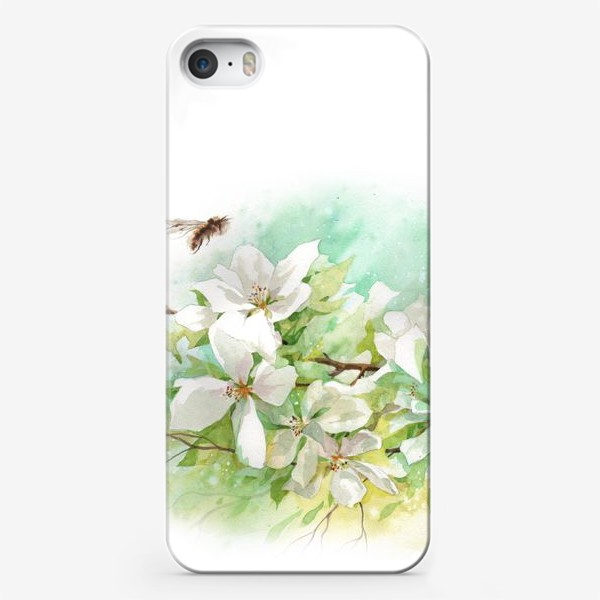 Чехол iPhone «Цветущая ветка»