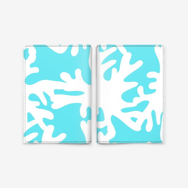 Обложка для паспорта «Коралловый риф»