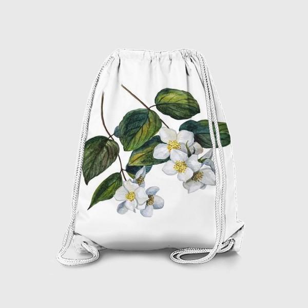 Рюкзак «Веточки жасмина»
