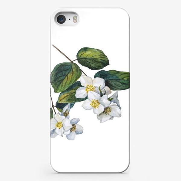 Чехол iPhone «Веточки жасмина»