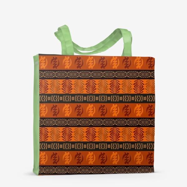 Сумка-шоппер «Африканский этнический паттерн »