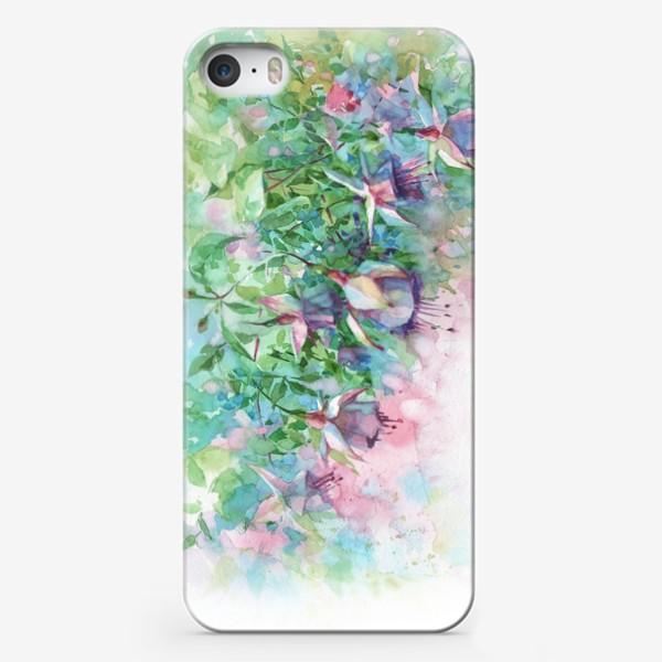Чехол iPhone «Ветка фуксии»