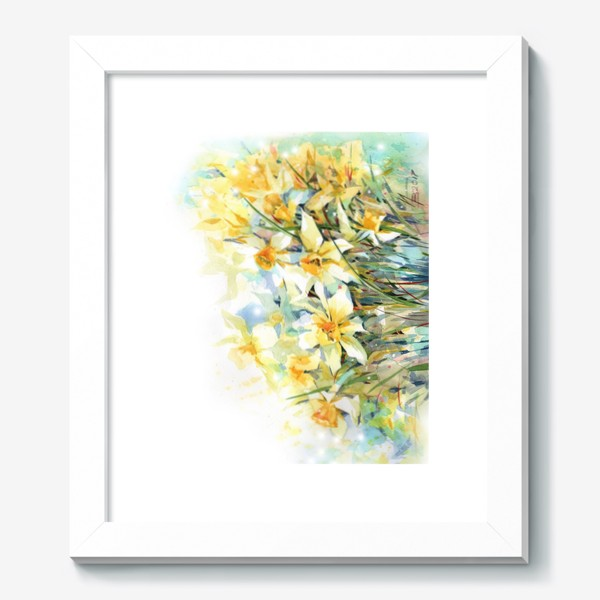 Картина «Нарциссы жёлтые»