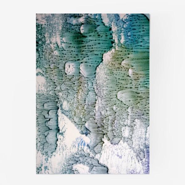 Постер «Абстракция Зимняя история»