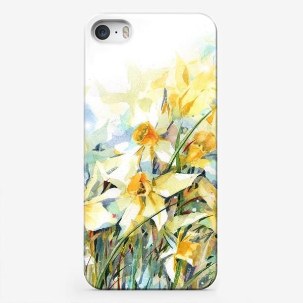 Чехол iPhone «Нарциссы жёлтые»