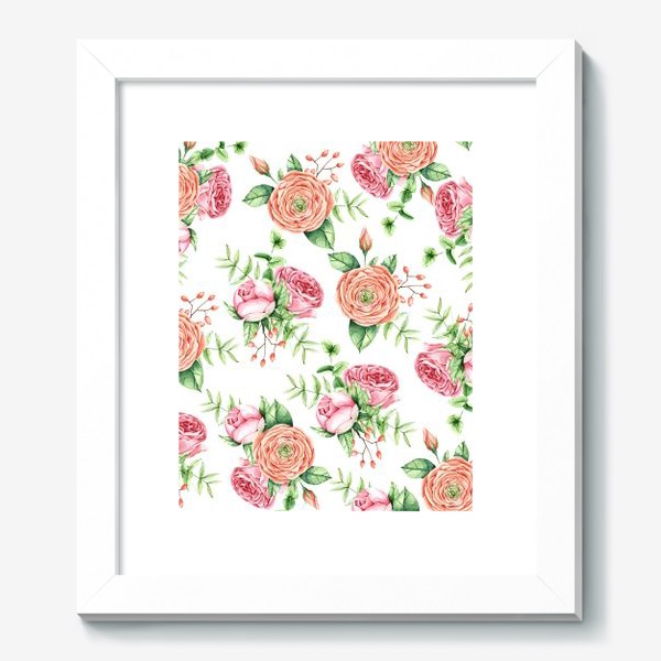 Картина «Watercolor spring bloom»