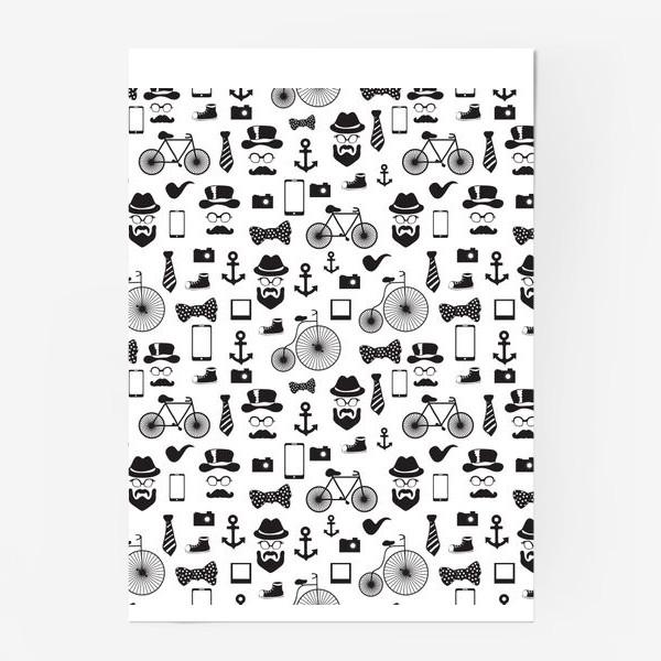 Постер «Хипстер-стайл»