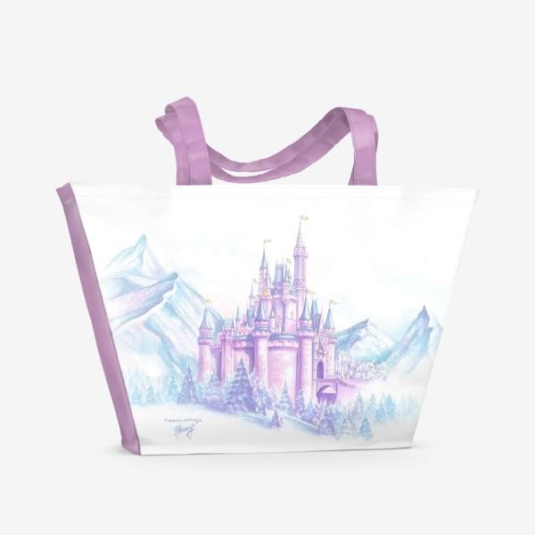 Пляжная сумка «Сказочный замок»