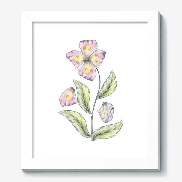 Картина «Нежный цветок»