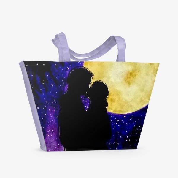 Пляжная сумка «Любовь - Love»