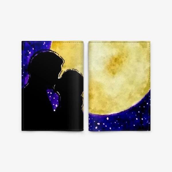 Обложка для паспорта «Любовь - Love»