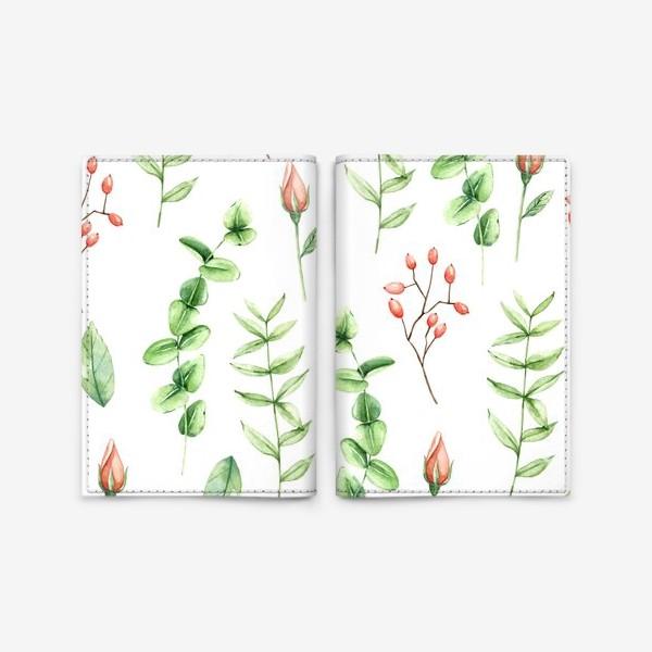 Обложка для паспорта «Spring bloom»