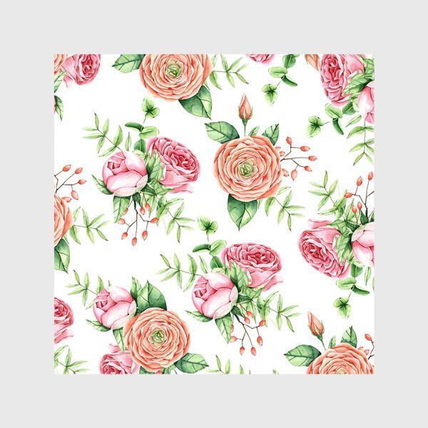 Шторы «Watercolor spring bloom»