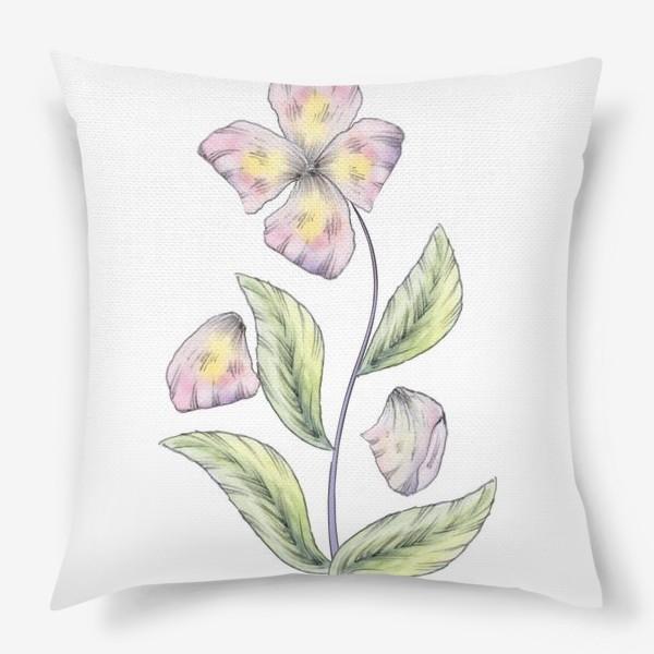 Подушка «Нежный цветок»