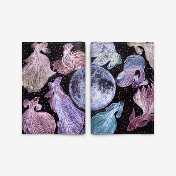 Обложка для паспорта «Луна - Moon»