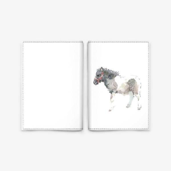 Обложка для паспорта «Пони Пончик»