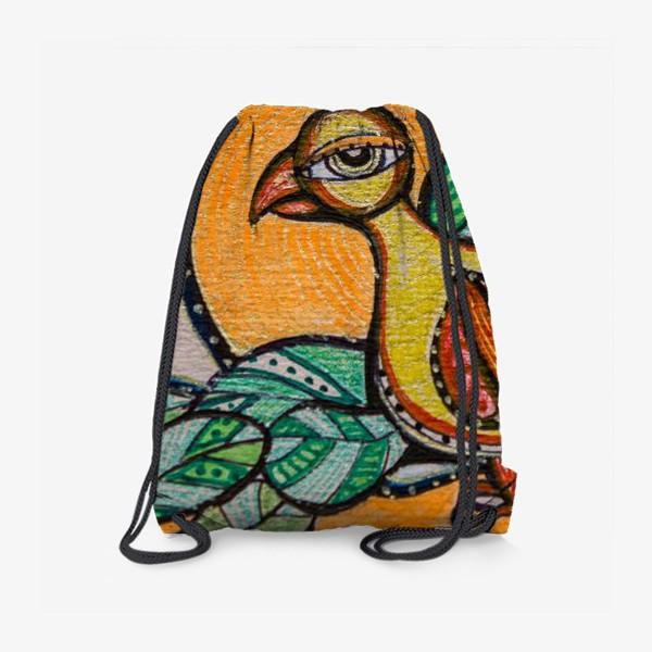 Рюкзак «Птица Мудрости»