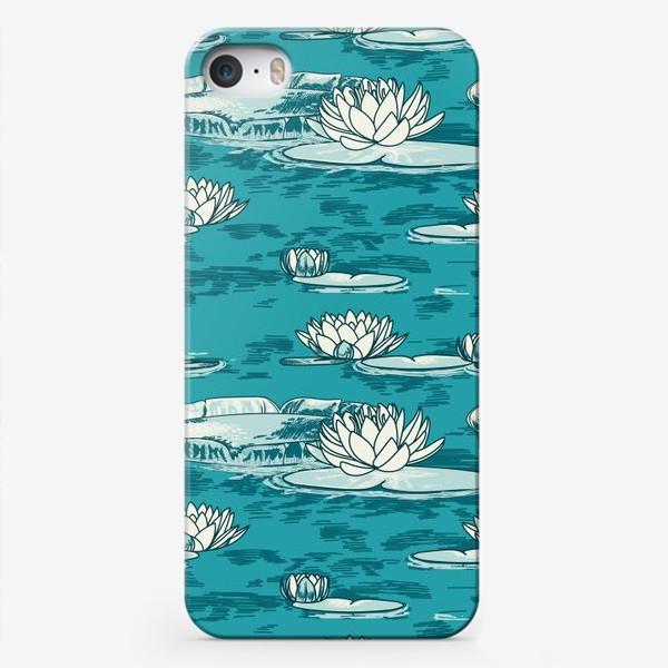 Чехол iPhone «Кувшинки»