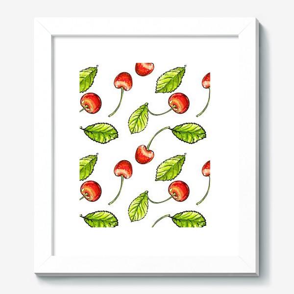 Картина «вишня»