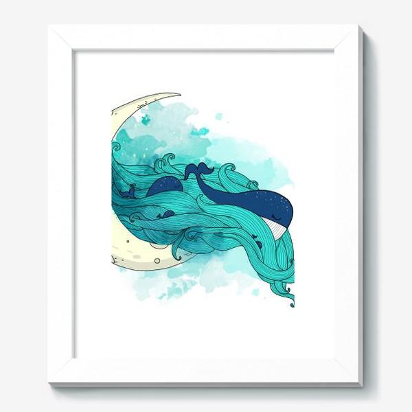 Картина «Китовая сказка 1»