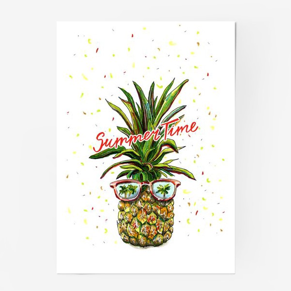 Постер «SUMMER TIME»