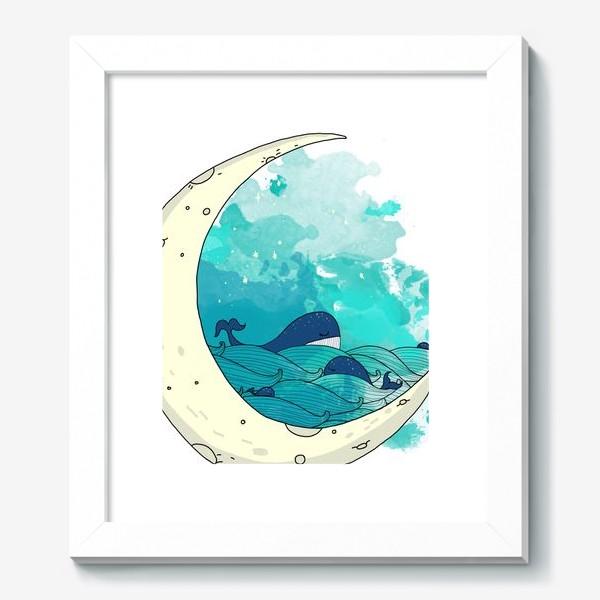 Картина «Китовая сказка 2»