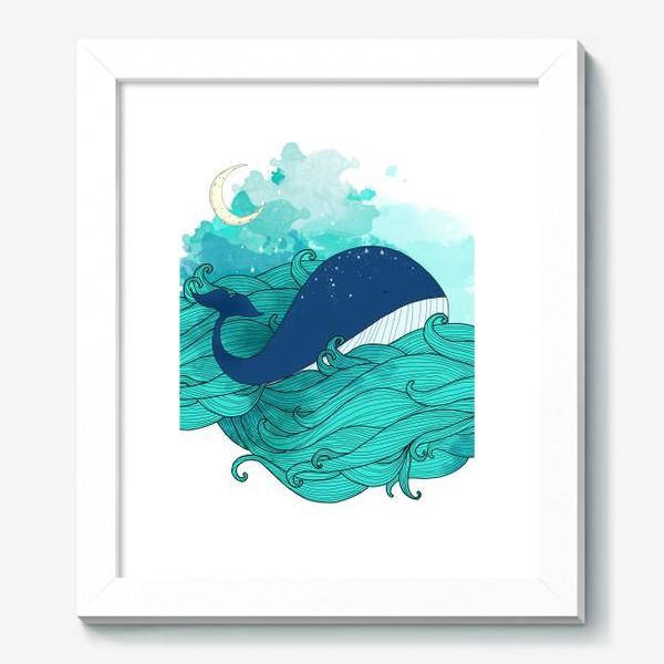 Картина «Китовая сказка 3»