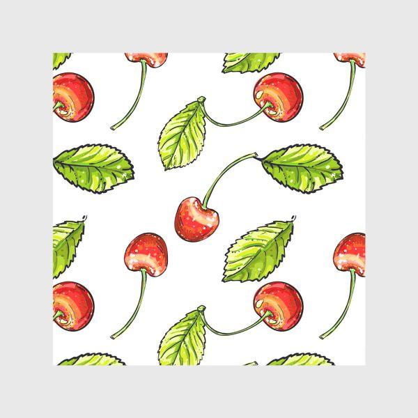 Скатерть «вишня»