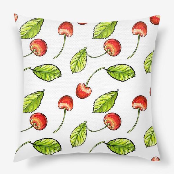 Подушка «вишня»