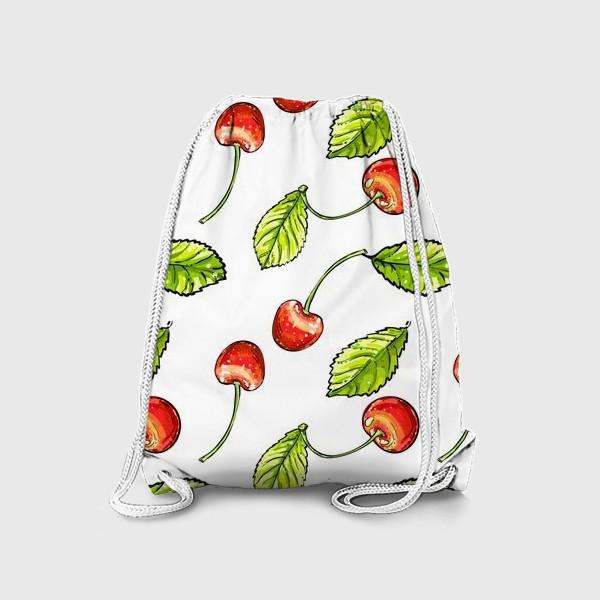 Рюкзак «вишня»