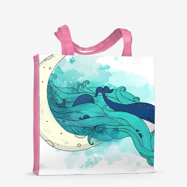 Сумка-шоппер «Китовая сказка 1»