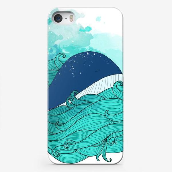 Чехол iPhone «Китовая сказка 3»